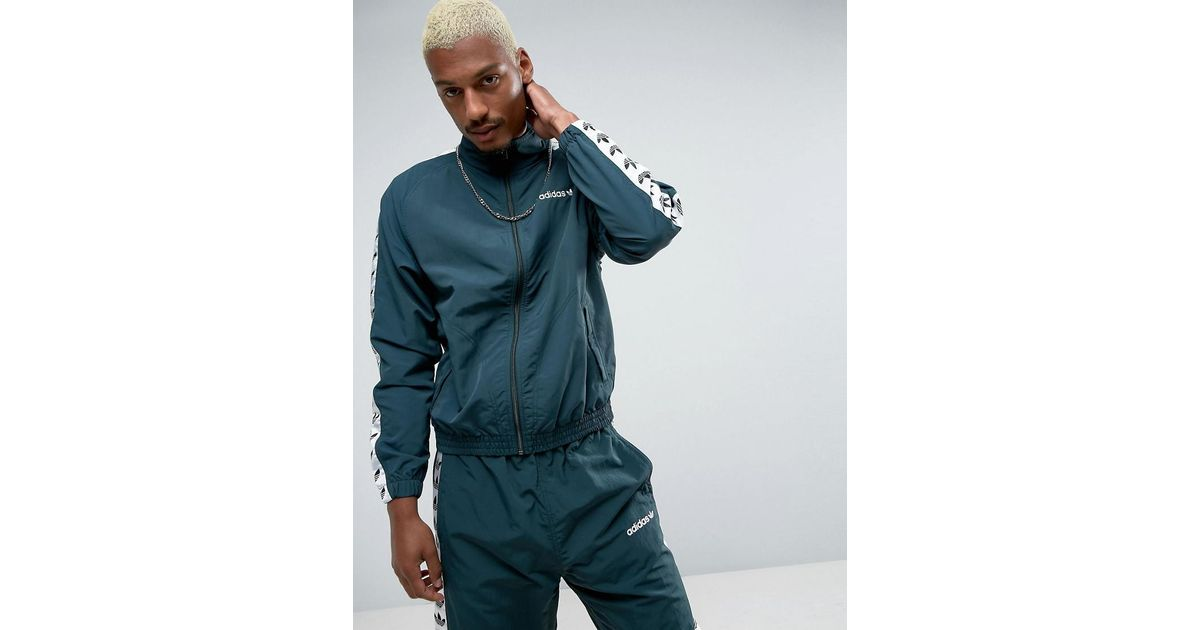 adidas Originals TNT Tape Wind Jacket Green