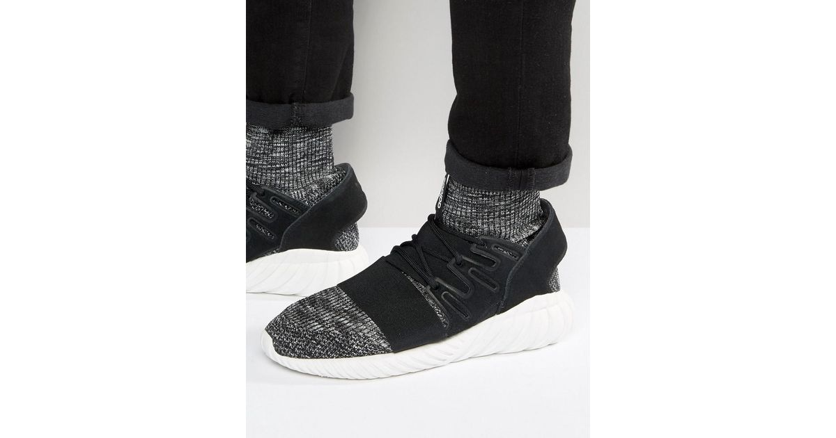 on sale 1f601 7944b Adidas Originals Tubular Doom Pk Trainers In Black Bb2392 for men