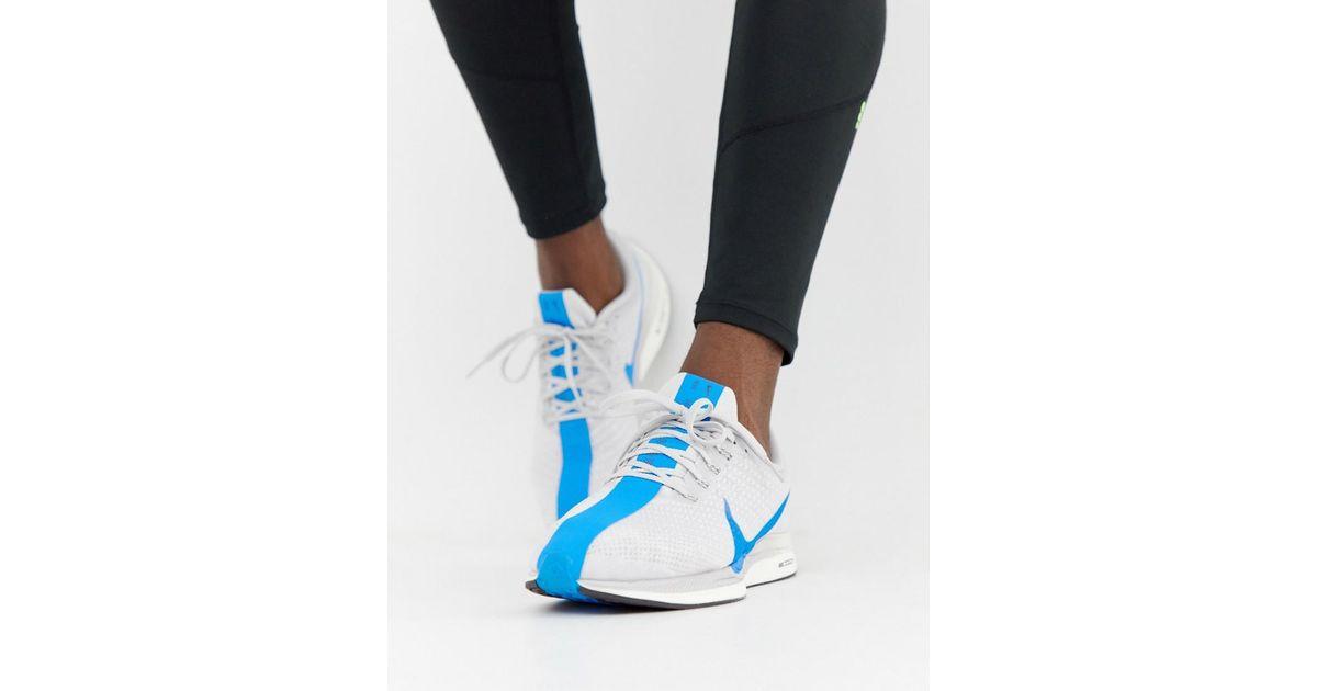 new product d0b70 76d75 Nike Black Pegasus Turbo Trainers In Blue Aj4114-140 for men