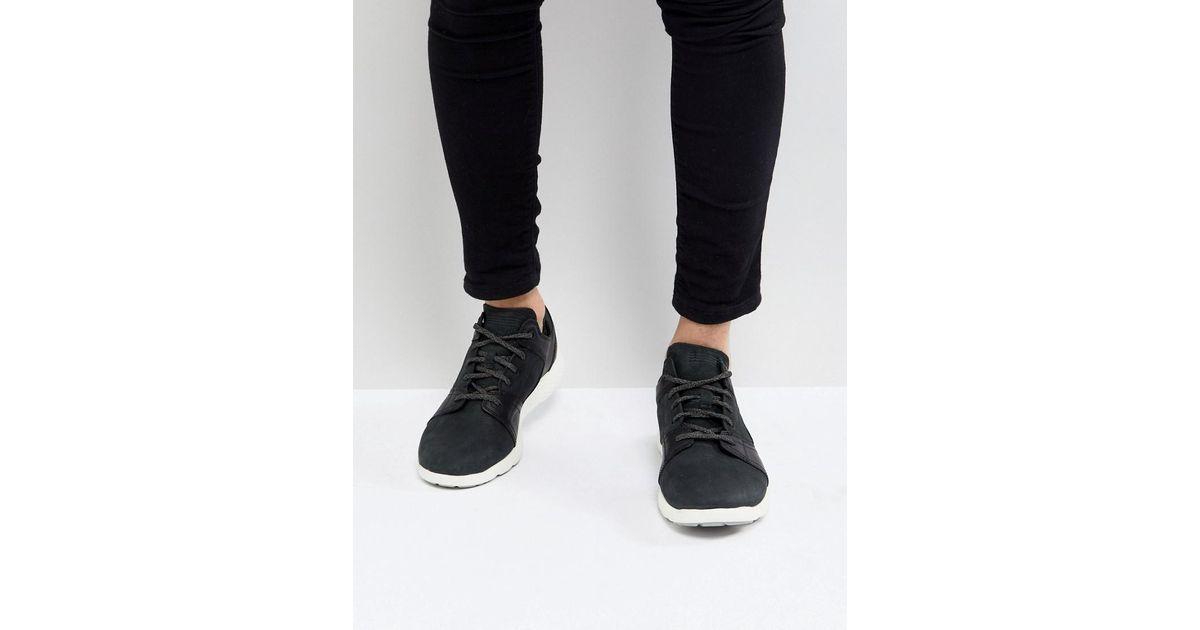 86290934723 Timberland Flyroam Suede Sneakers In Black in Black for Men - Lyst