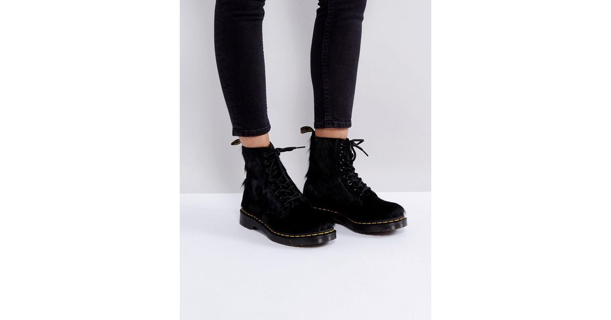 Dr. Martens Leather 1460 Pony Hair
