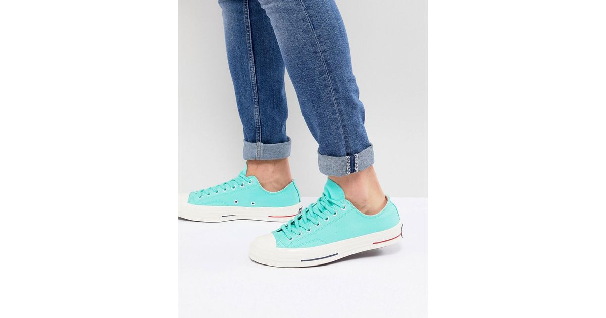 cheap low price fee shipping Converse Chuck Taylor All Star '70 Ox Plimsolls In Green 160495C outlet explore cheap 100% authentic cheap sale factory outlet kZJp8d0y