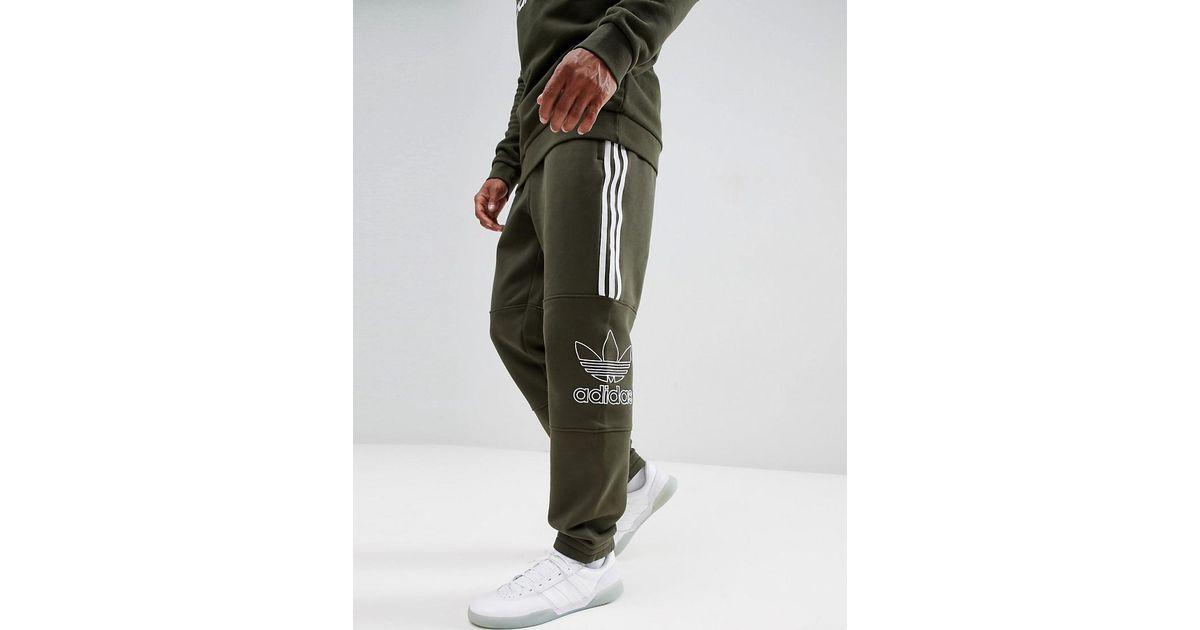 adidas Originals Outline Jersey Joggers