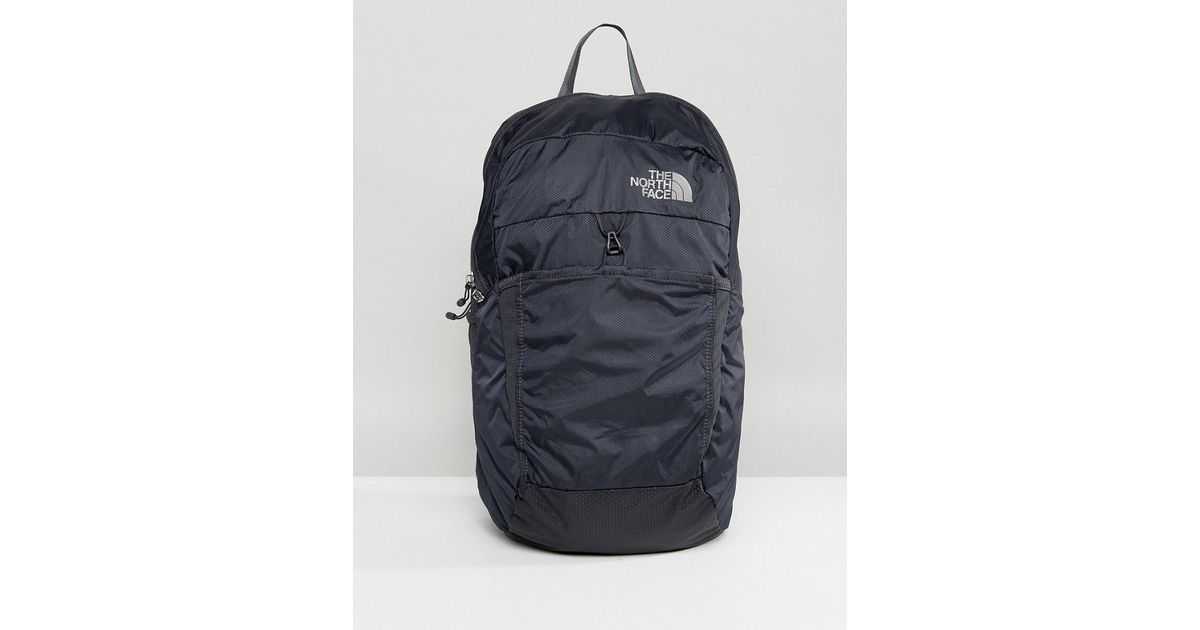 17ba04c83 The North Face Gray Packable Backpack Flyweight In Black for men