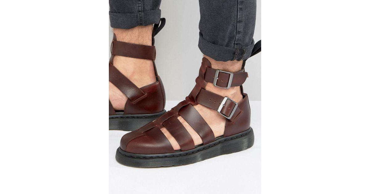 Sandals For Geraldo Red Men DrMartens u1JKF35Tlc