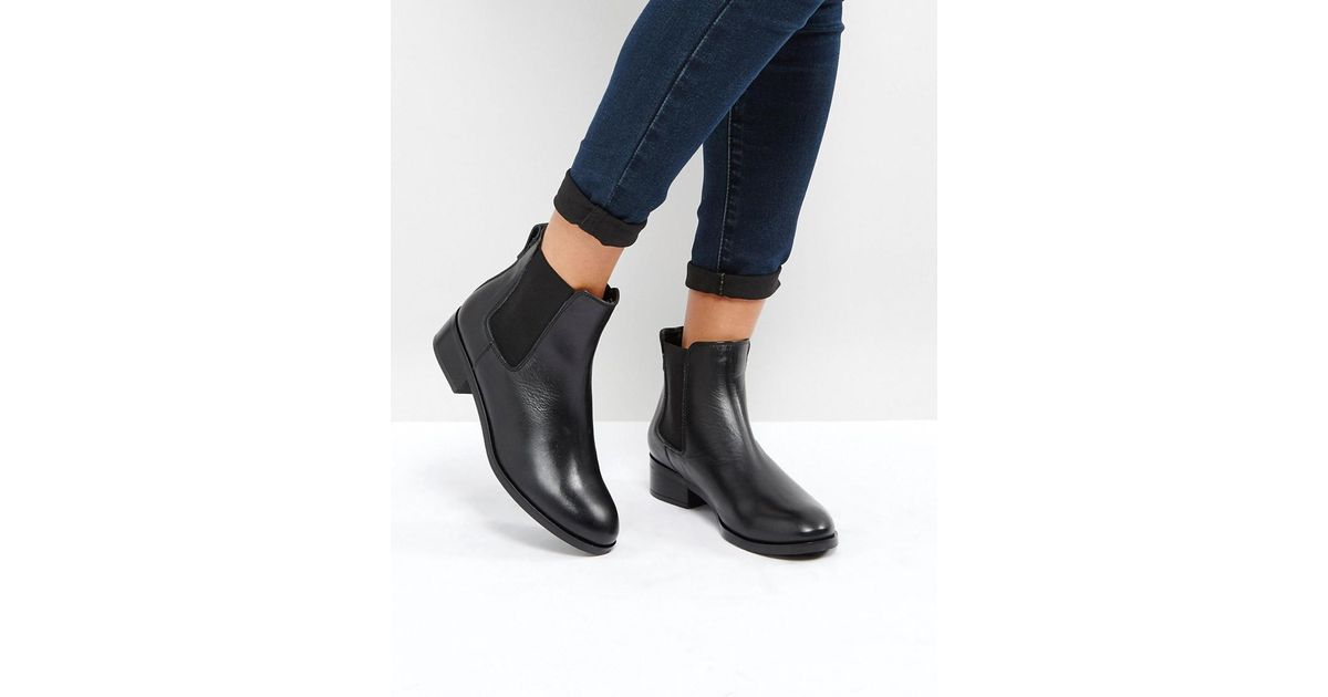 ALDO Meaven Leather Chelsea Ankle Boots