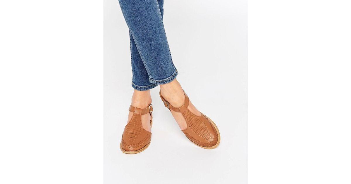 Asos Jabel Leather Geek Shoes