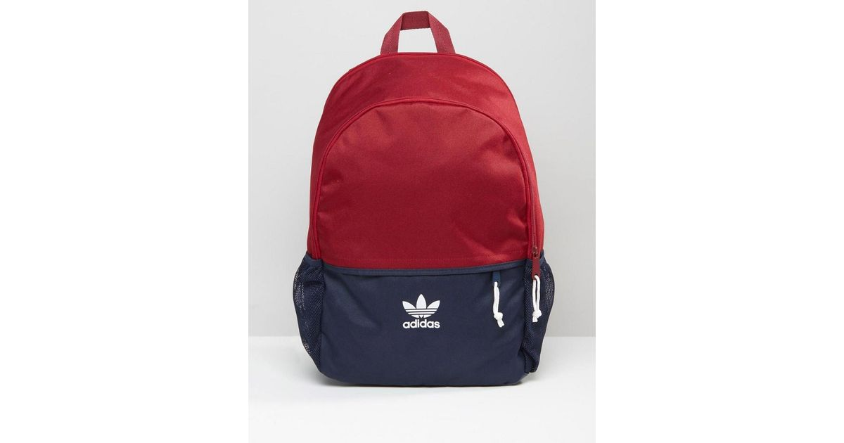 Adidas Originals Backpack In Red Ay7738 in Red for Men - Lyst 8eef488357136