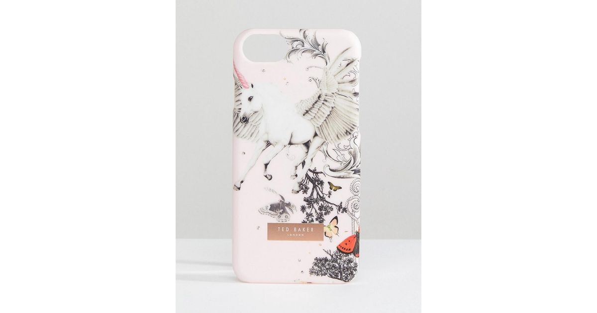 best sneakers 0f596 09a92 Ted Baker Pink Enchanted Dream Iphone Clip Case