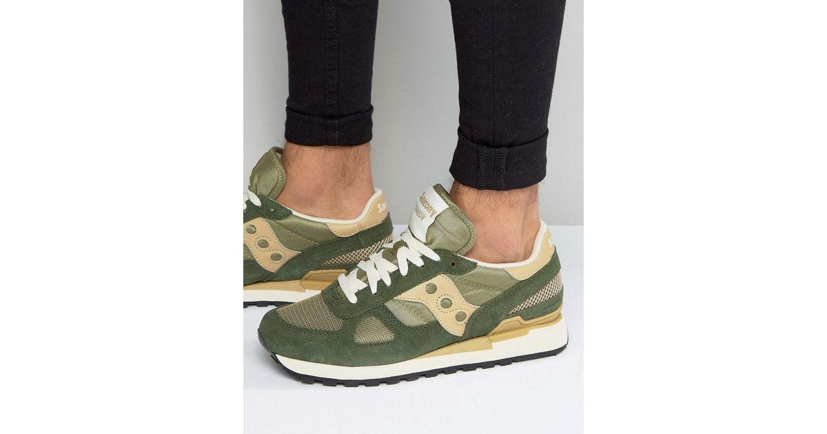968673bbc5045 Saucony Shadow Original Sneakers S2108-629 in Green for Men - Lyst
