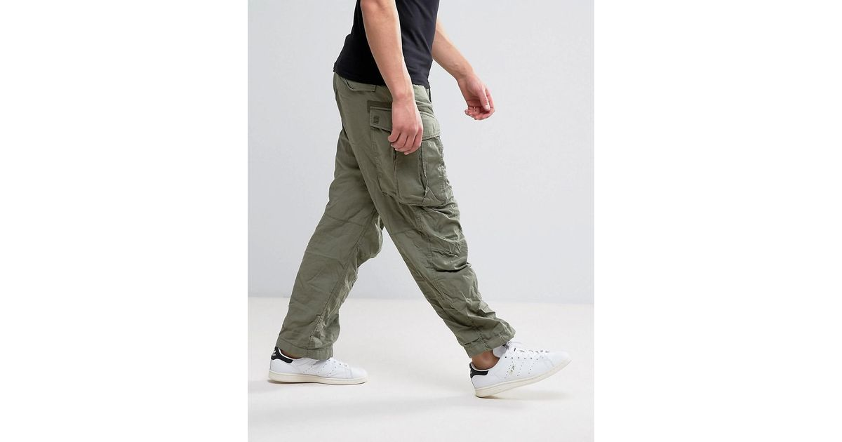 Ultramoderne G-Star RAW Cotton Rovic Parachute Cargo Pant in Green for Men - Lyst DR-24