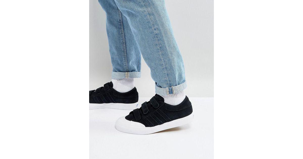 Adidas Originals Matchcourt Cf Trainers In Black Cg4509 for men