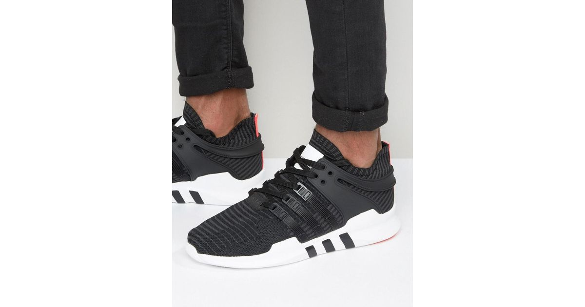 differently 18d74 1bd75 Adidas Originals Eqt Support Advance Sneakers In Black Bb1260 for men