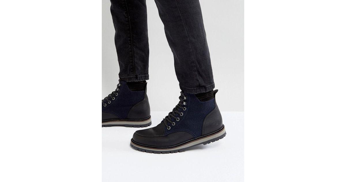 Royaume-Uni disponibilité 0ddc3 66936 Lacoste Black Montbard Pique Boots for men