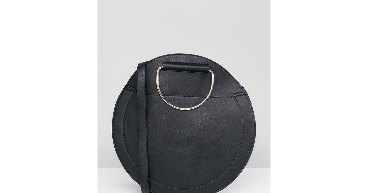la meilleure attitude 6f4e4 fe601 Grand sac rond Accessorize en coloris Black