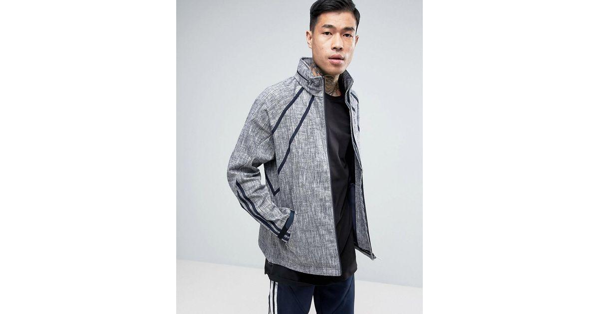 Adidas Originals Tokyo Pack Nmd Windbreaker In Blue Bk2216 for men