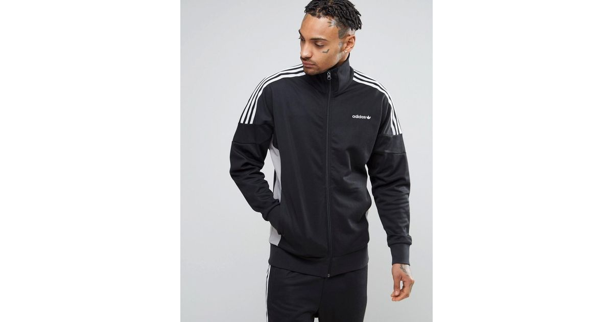 Adidas Originals Clr84 Track Jacket In Black Bk5915 for men