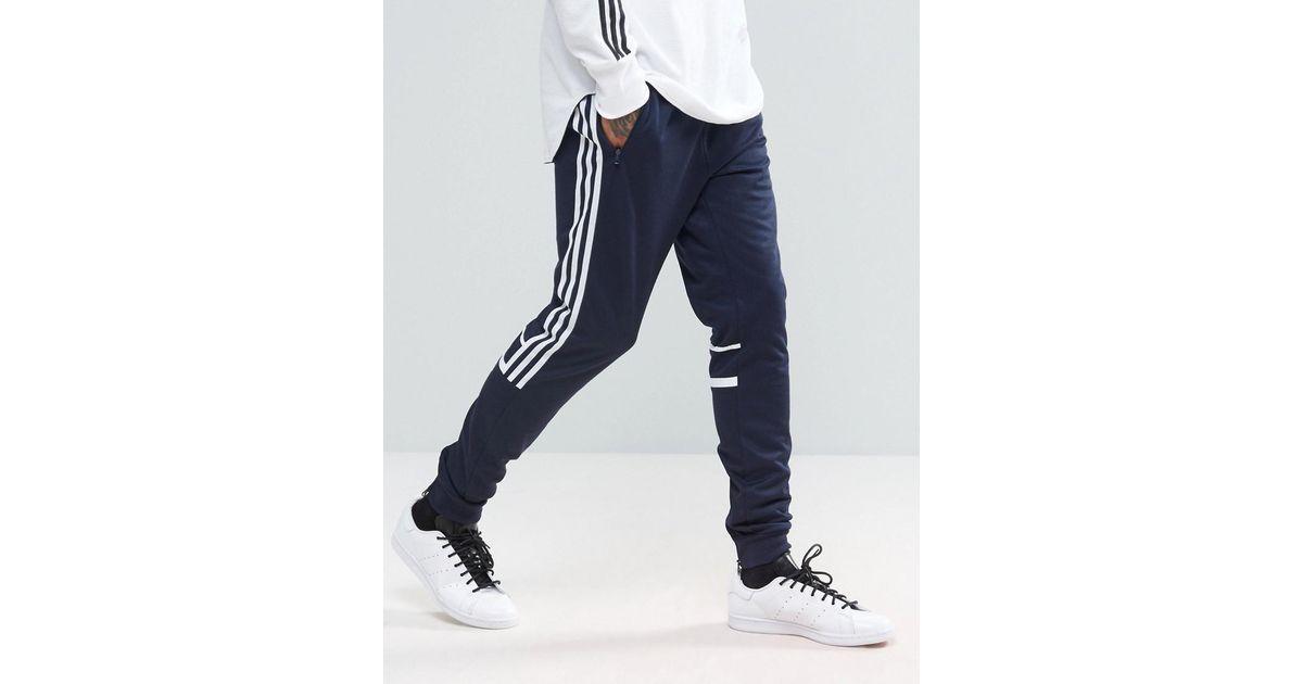 ADIDAS ORIGINALS MEN'S Blue Clr84 Retro Joggers Track pants