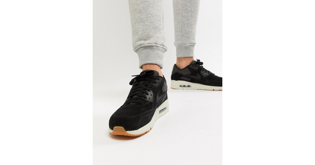 Nike Air Max 90 Ultra Leather Trainers