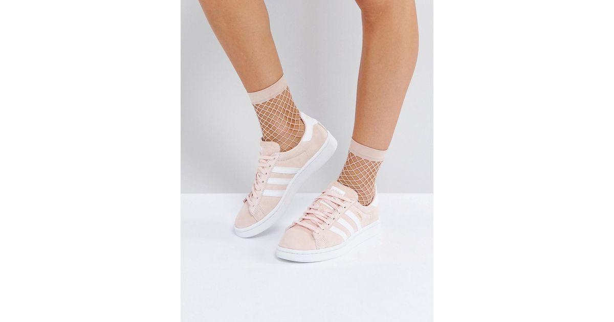 Adidas Originals Originals Campus Sneaker In Pale Pink