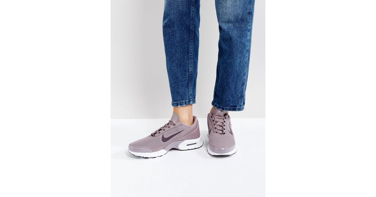 Nike Gray Air Max Jewell Trainers In Dusky Lilac