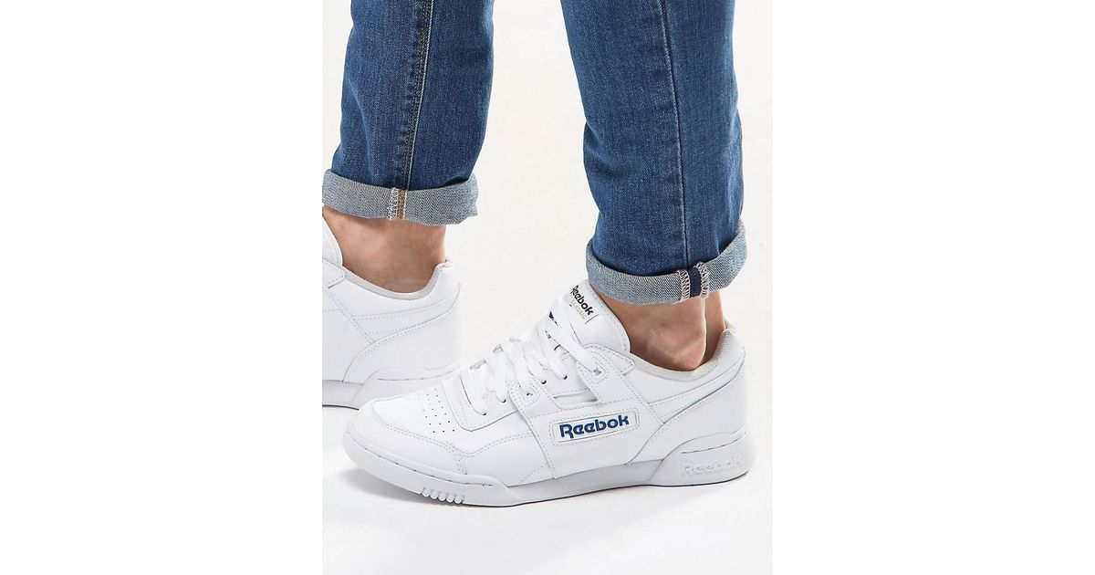 6fa27b4743dbe6 Reebok Workout Plus Trainers In White 2759 in White for Men - Lyst