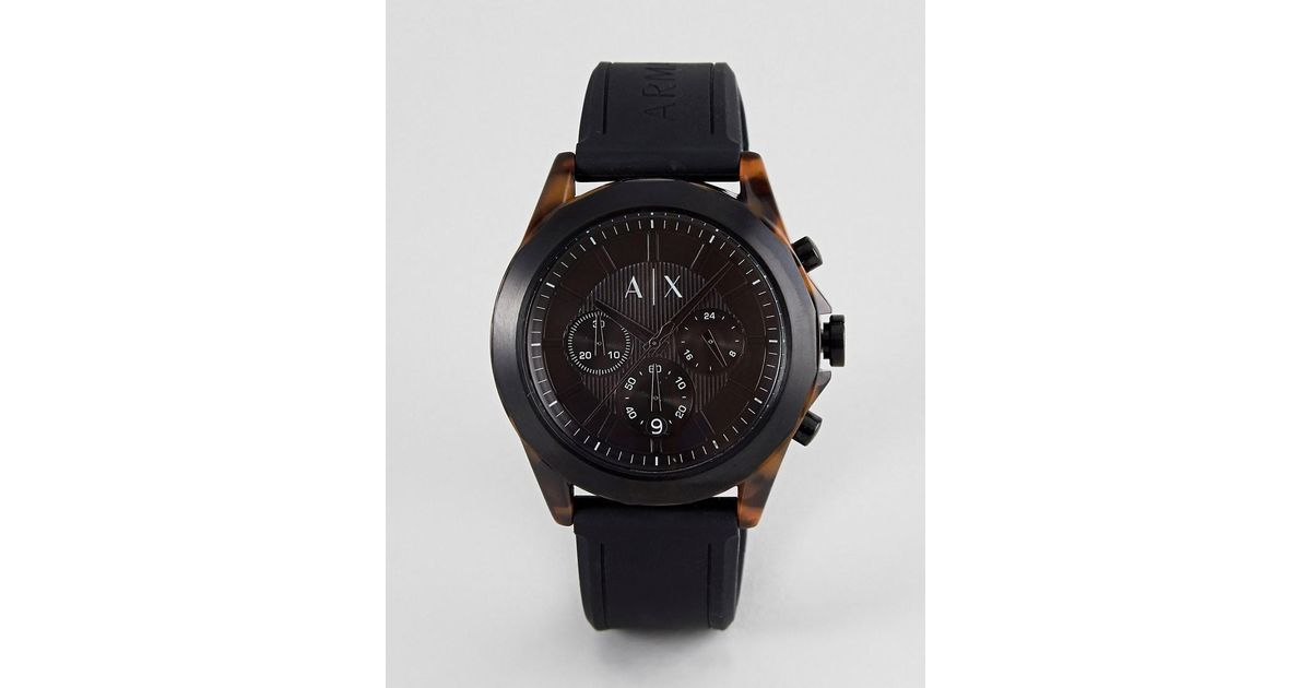 Armani In For Men Black Ax2610 Watch Exchange 8wvNnm0