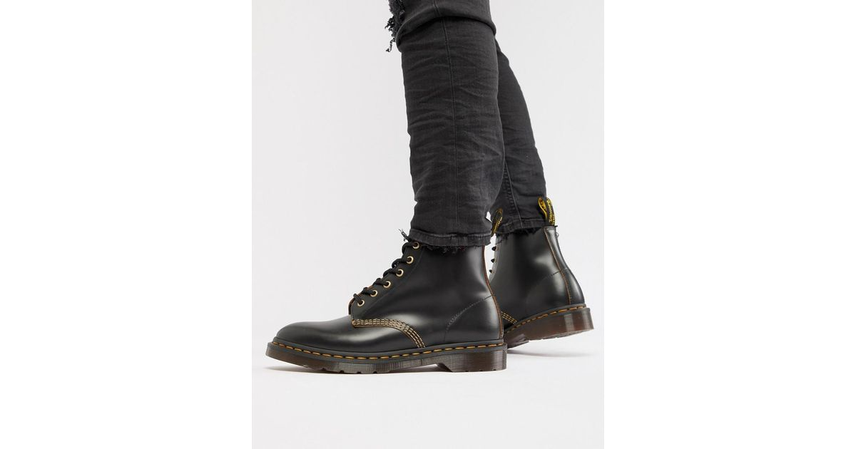 cd483bfe9ac Dr. Martens Wincox 6-eye Boots In Black for men