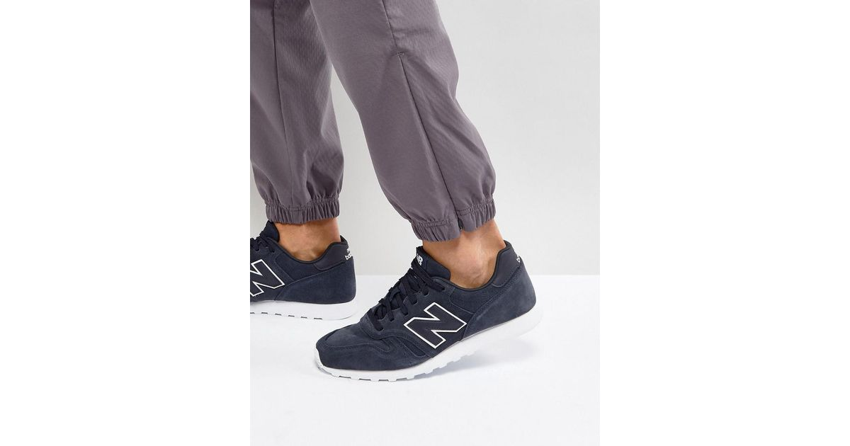 6ebe2f55ee3fc New Balance 373 Premium Trainers In Navy Ml373tm in Blue for Men - Lyst