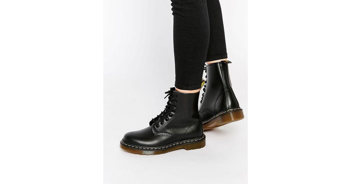 8cd9ddef8c Dr. Martens Black Modern Classics Smooth 1460 8-eye Boots