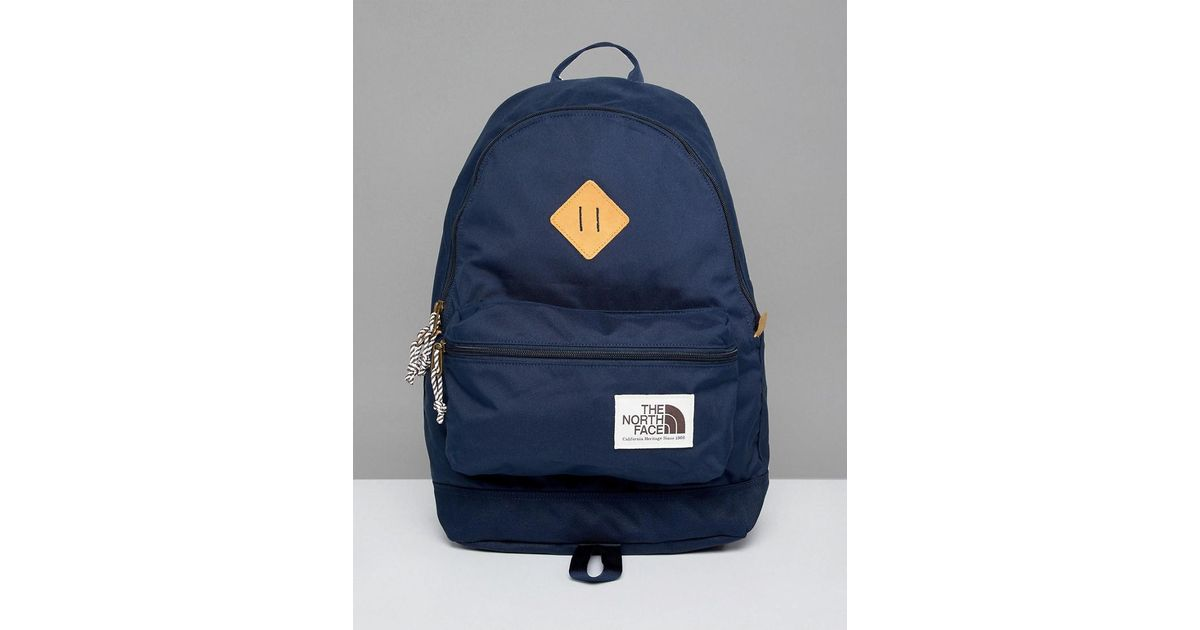 d4e60b109 The North Face Blue Berkeley Backpack 25 Litres In Navy for men