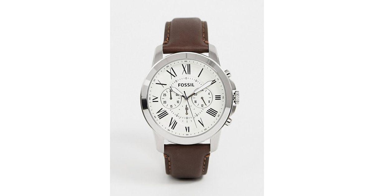 fossil horloge fs4735