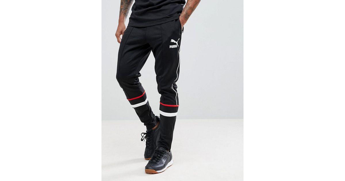 99e981ce85 PUMA Black Super Track Pants for men