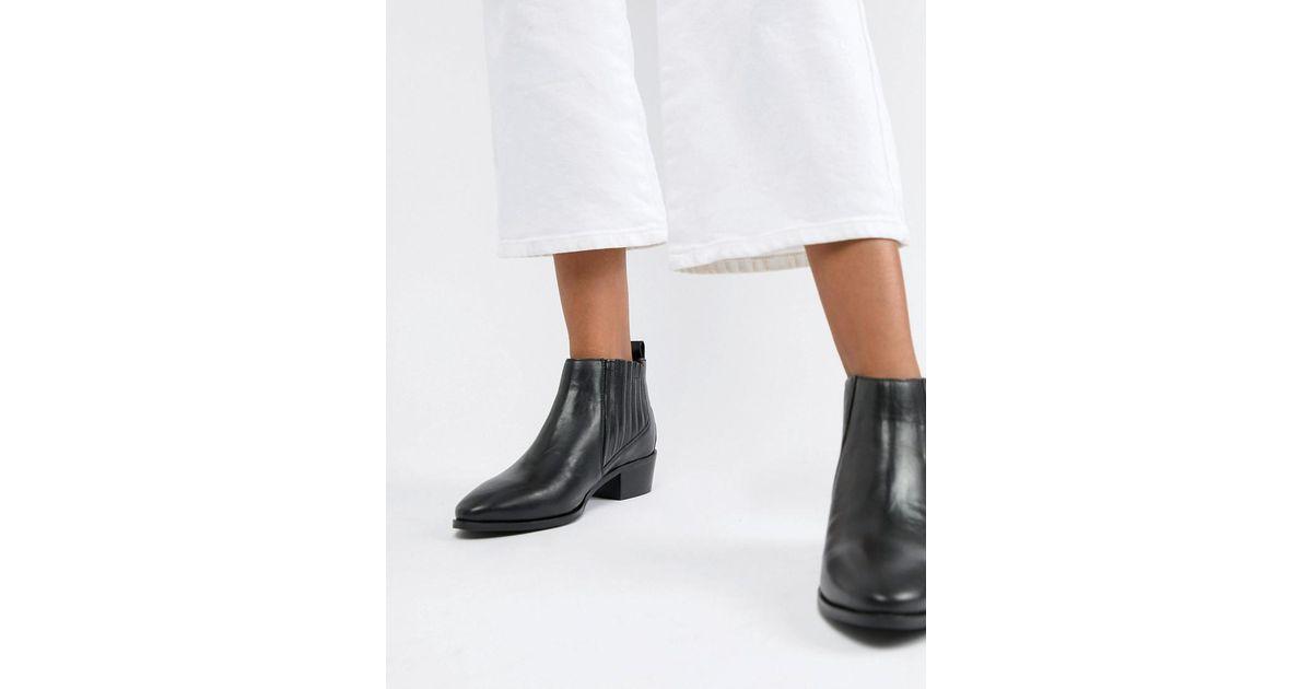 hot sale online ca413 7d110 Bronx Black Leather Chelsea Boots