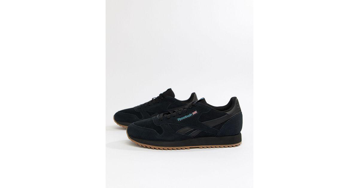 Reebok Cl Suede Mu Ripple Sneakers