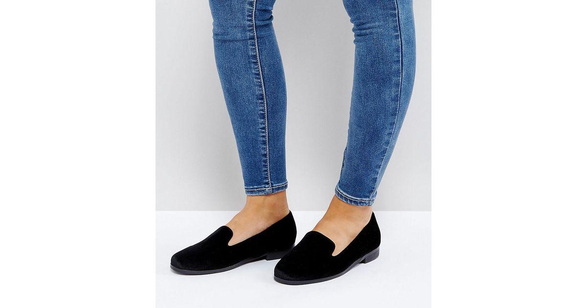 MALBEC Wide Fit Flat Shoes - Black Asos RGoAiu0Nvb