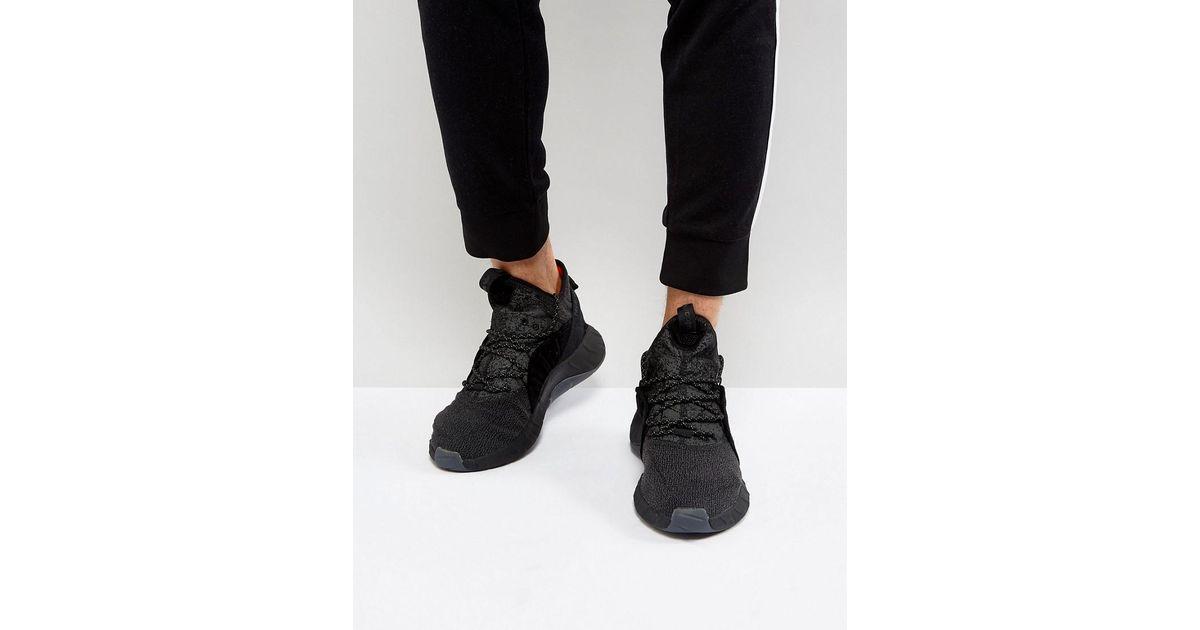 quality design aec16 9f443 Adidas Originals Tubular Rise Trainers In Black By3557 for men
