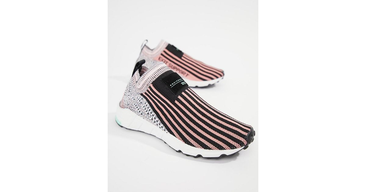 adidas Originals Eqt Support Sock 13 Sneakers In Black And