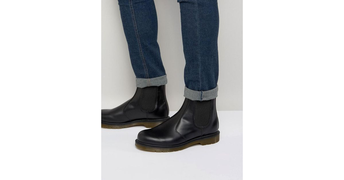 23851b2bb01 Lyst - Dr. Martens 2976 Chelsea Boots In All Black in Black for Men