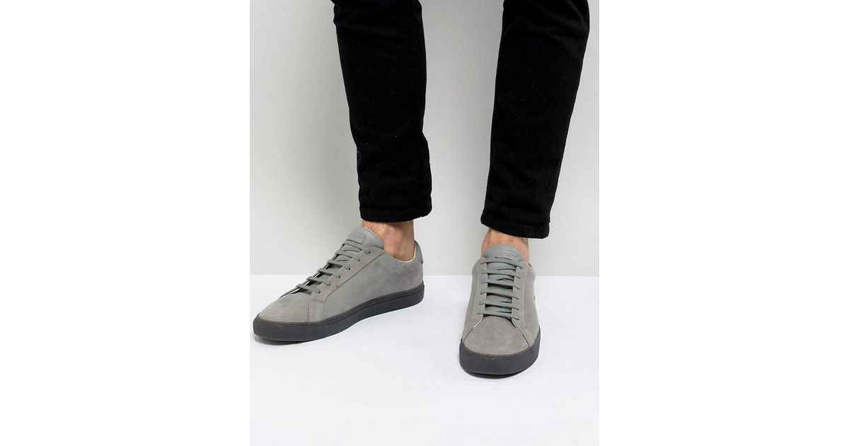 Kurt Geiger Leather Donnie Trainers In