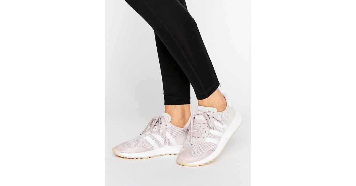 Adidas Originals FLB Trainer Womens Ice Purple White www