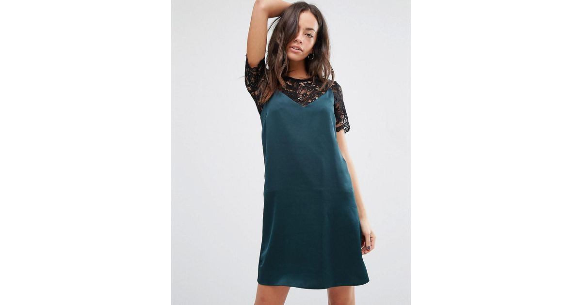 New look 2 in 1 lace dress