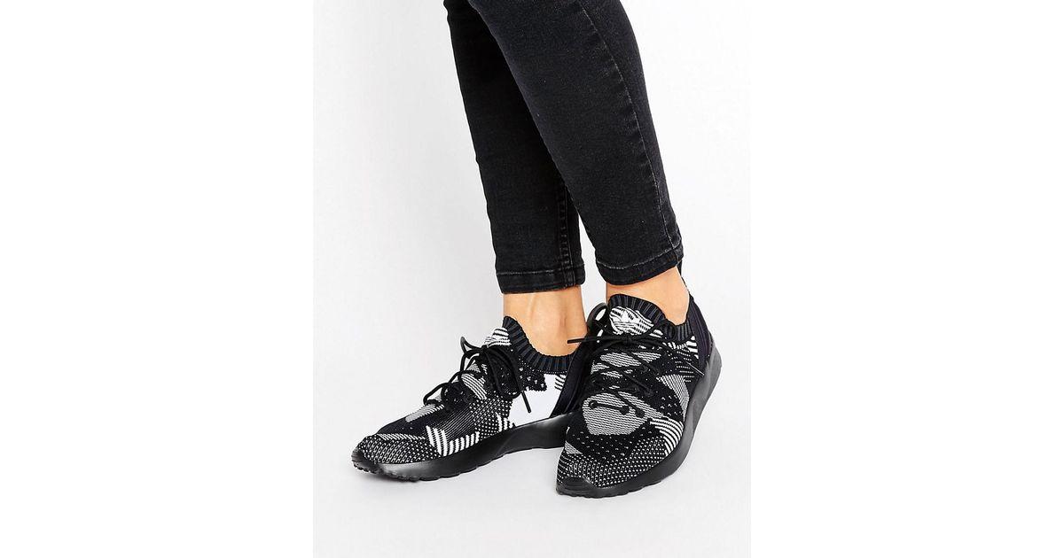 finest selection 88e46 012fc Adidas Originals Black Zx Flux Adv Virtue Performance Trainers