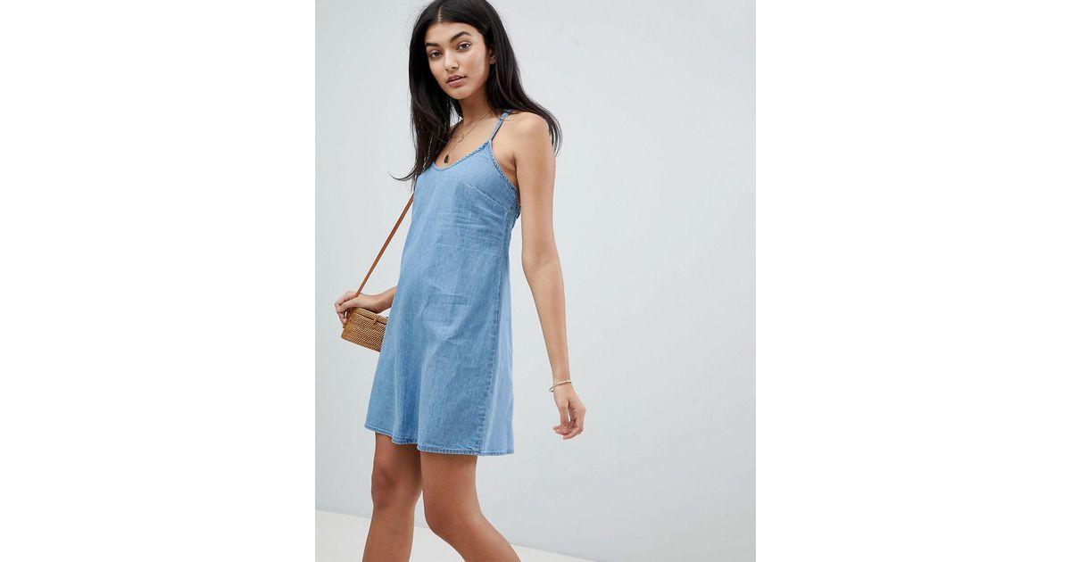 Slip Dress Blue