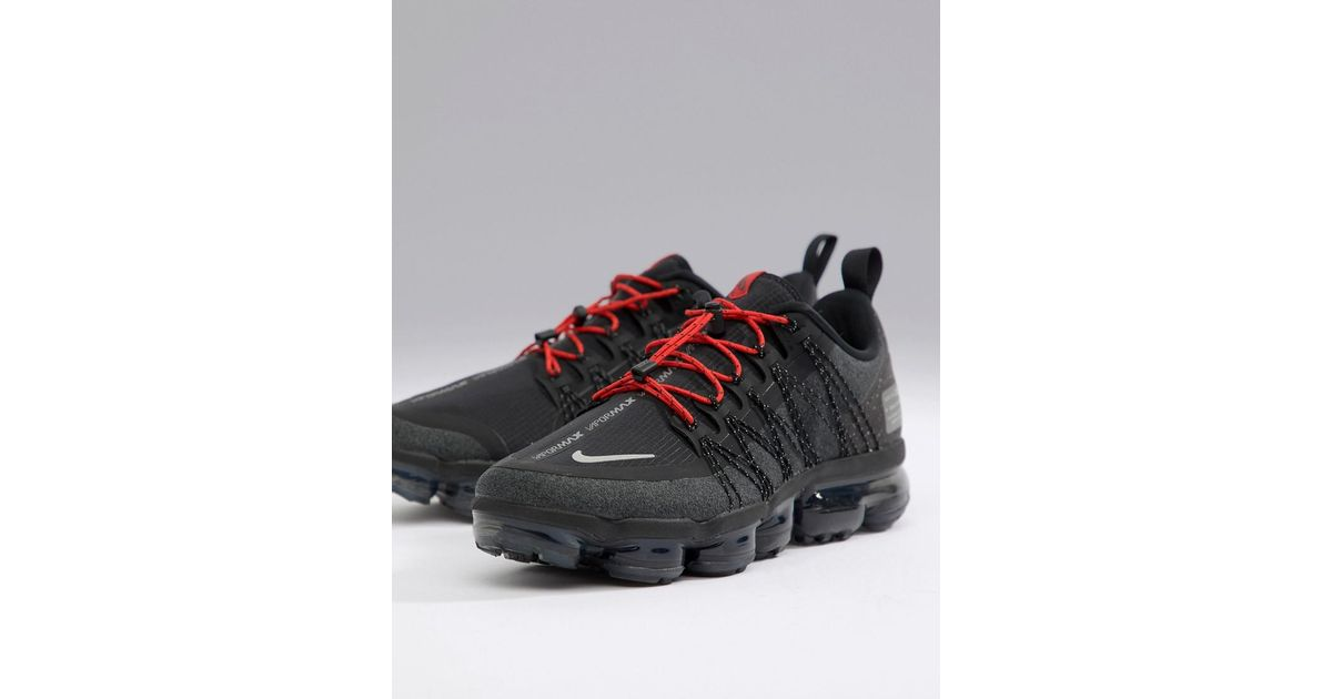 factory authentic 8ddc6 bf9ea Nike Vapormax Utility Trainers In Black Aq8810-001 for men