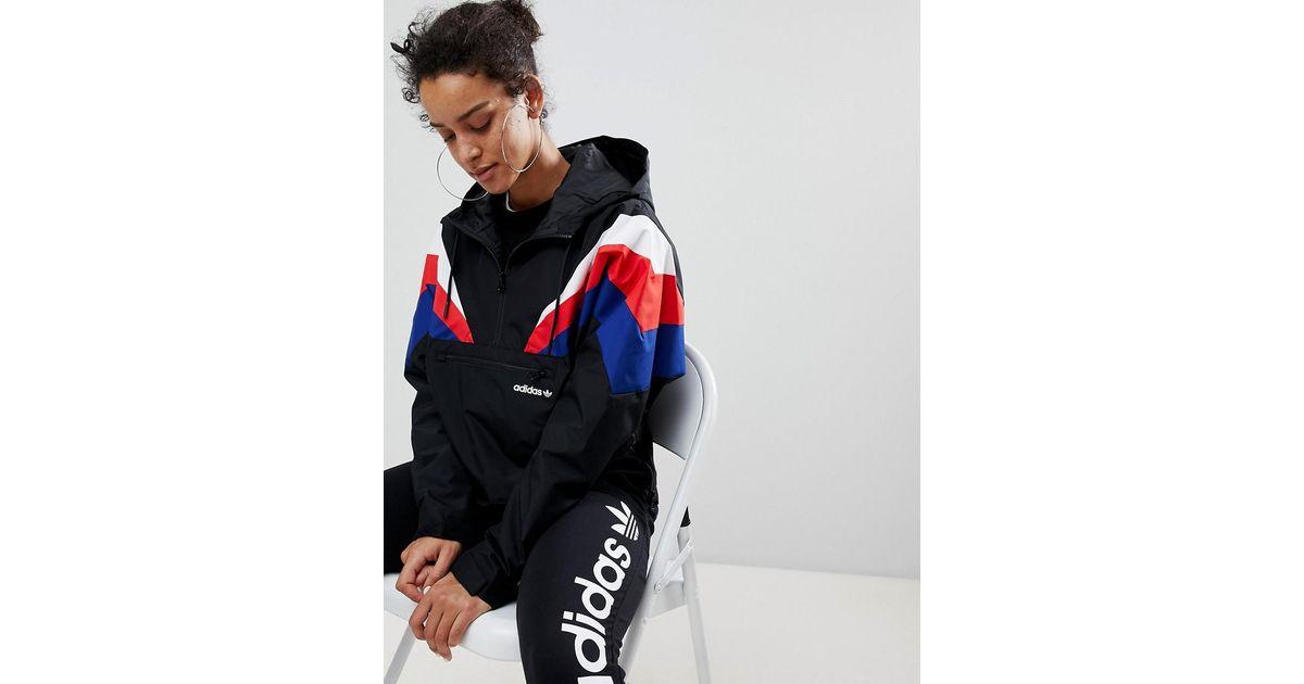 Originals Fotanka Wzq0xwx1 Lyst En Noir Adidas Veste wqT8aI0I