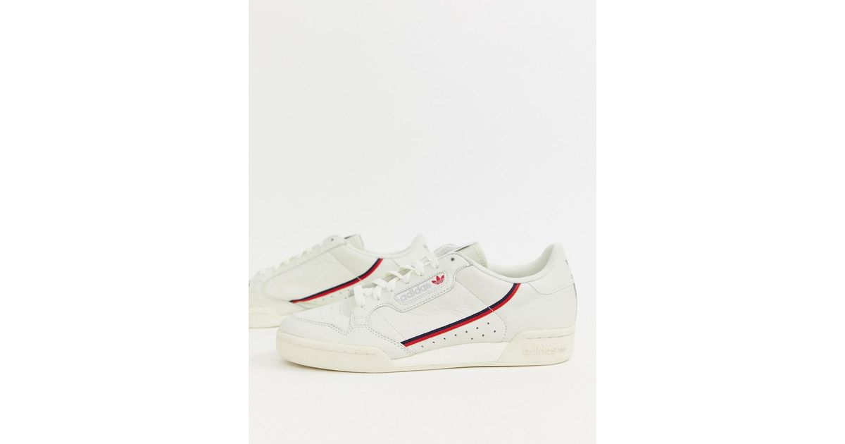 competitive price 48e96 f4623 adidas Originals Continental 80 s Sneakers In Off White B41680 in White for  Men - Lyst