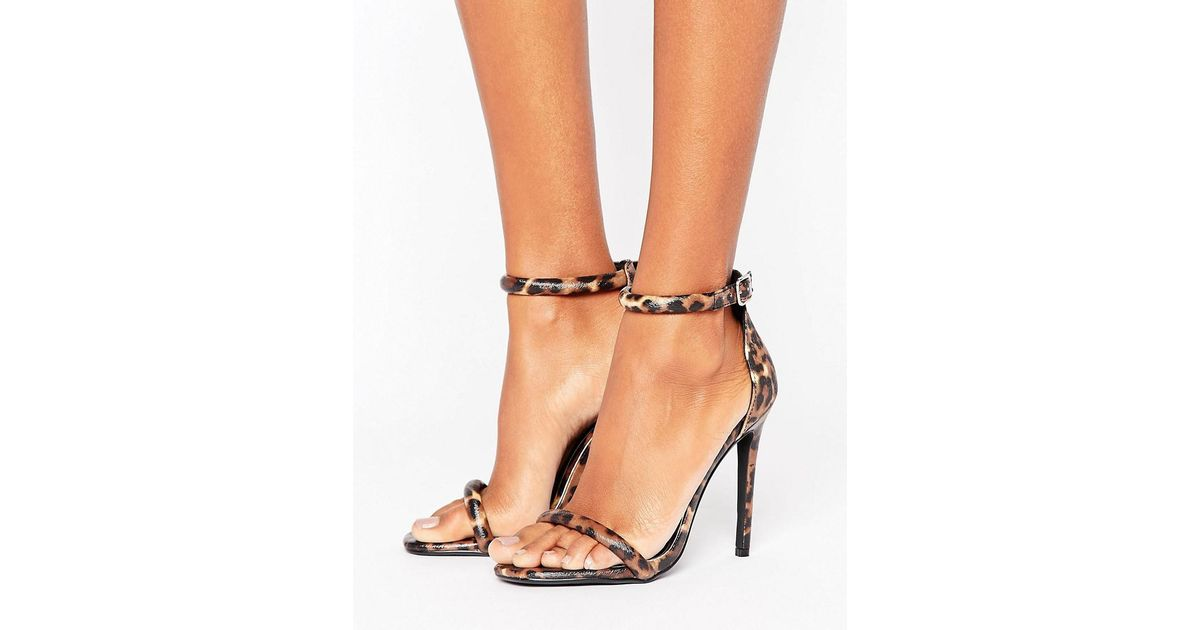 Missguided Leopard Print Barely There