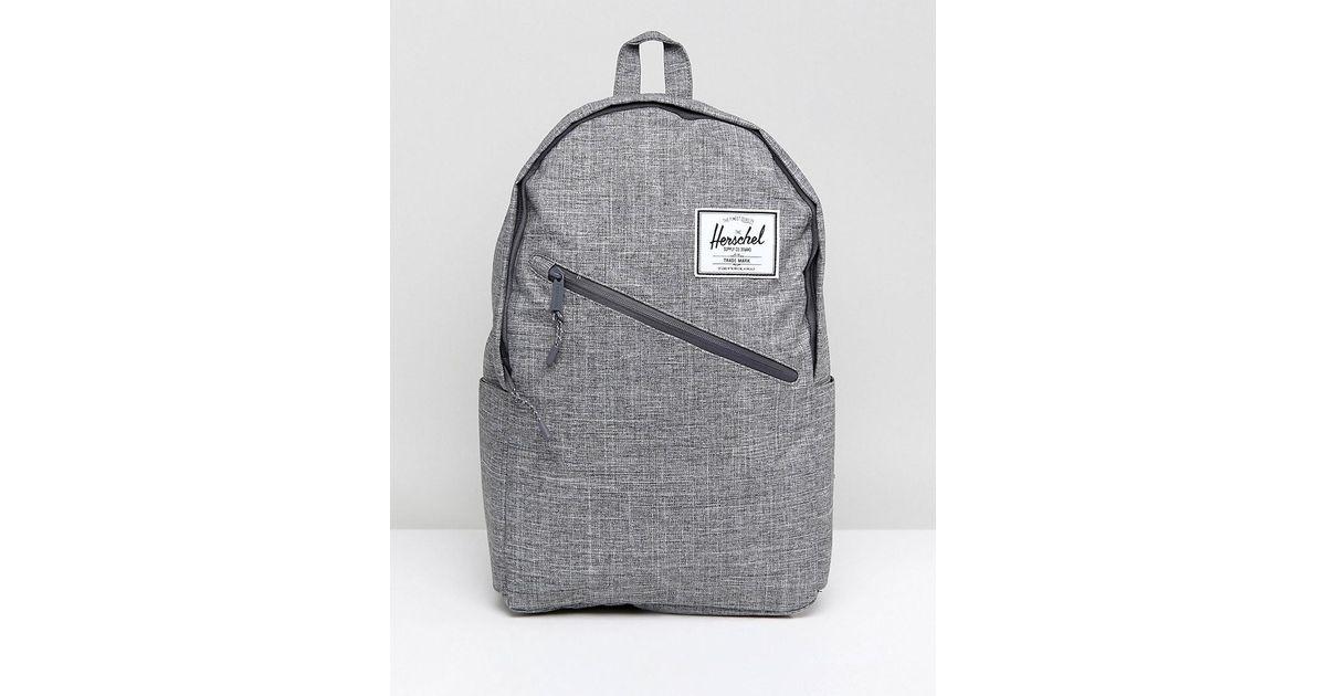 Lyst - Herschel Supply Co. Parker Backpack 19l in Gray for Men 61e33bd172426