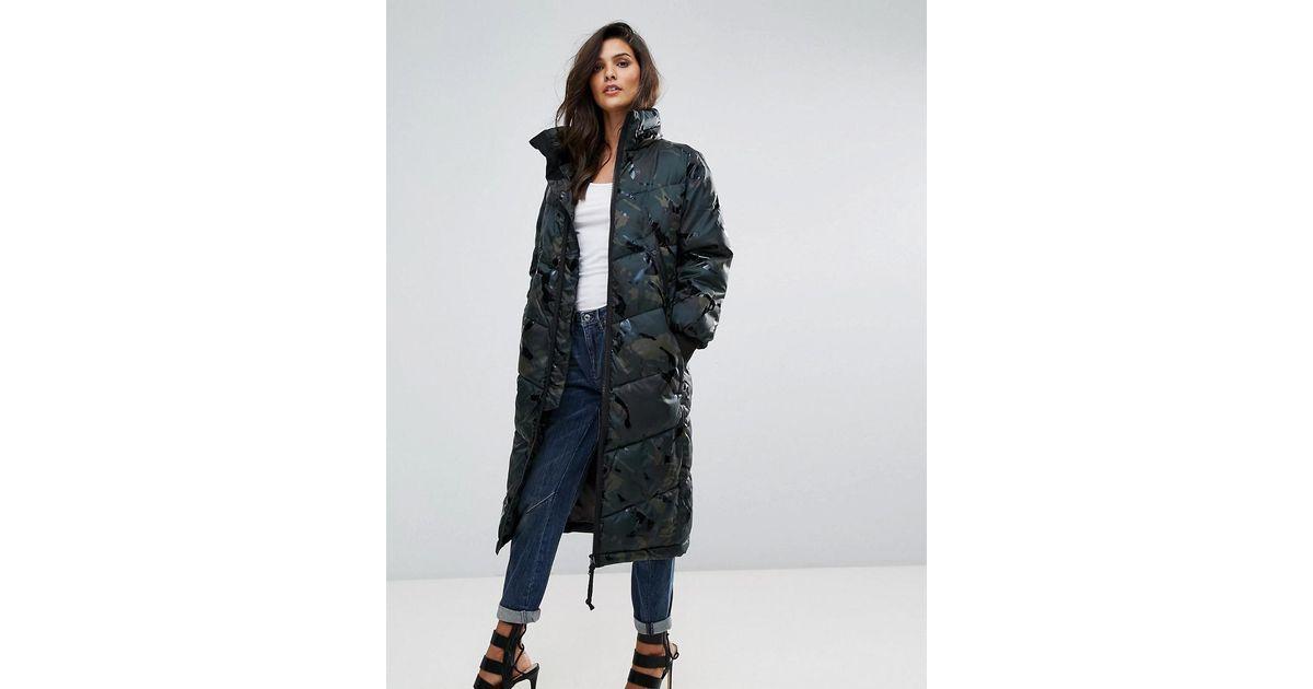 G Star RAW Alaska W coat dark camo